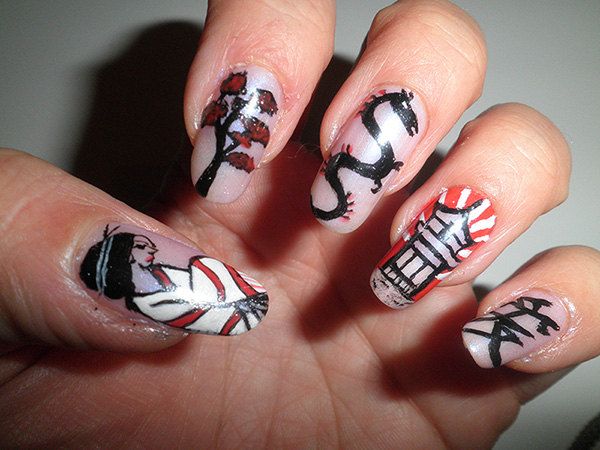 Nail art - Concours Asie
