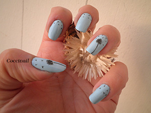 nail art doux et léger