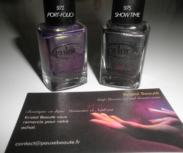 Color club Port-folio et Show time