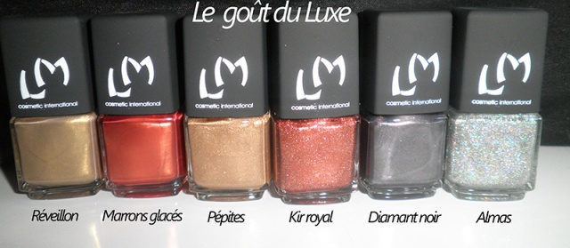 Le goût du luxe - LM Cosmetic