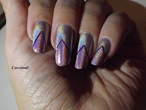 nail art strip'holo