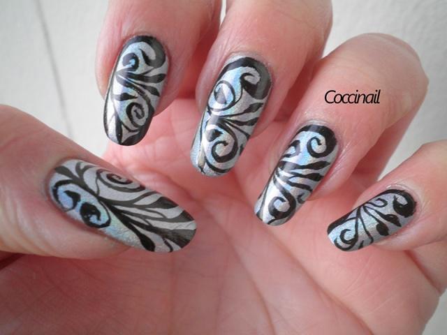 nail art arabesques