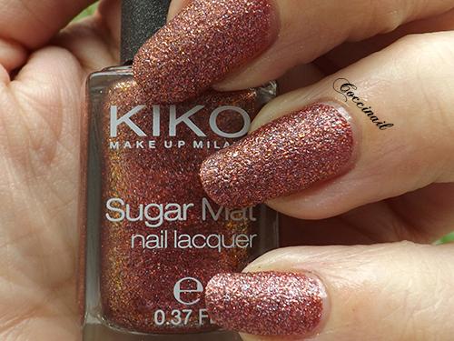 Kiko sugar mat 645 Burgundy (2/5)