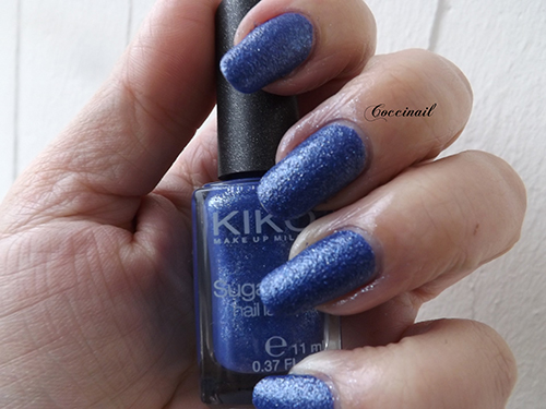 Kiko sugar mat 644 sea blue