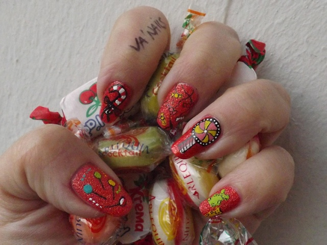 nail art bonbons