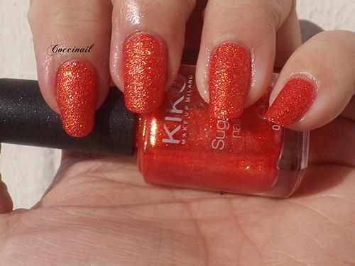 Kiko sugar mat 640 Poppy red (3/4)