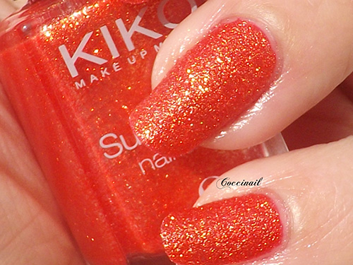 Kiko sugar mat 640 Poppy red
