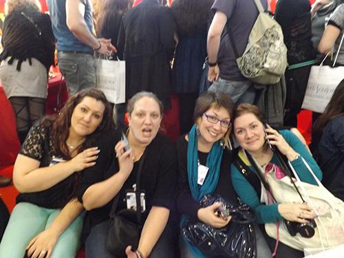 En exclu web, Nora K, moi, Jenny g nails et Misspassiongles49/audrey
