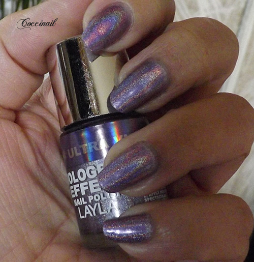 Cosmo lilac - Layla hologram effect