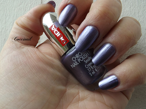 Chrome violet - Pupa