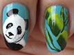 bambou et panda