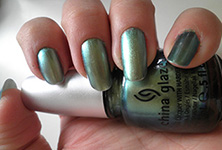 Unpredictable China Glaze