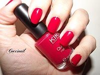 Kiko quick dry crimson red