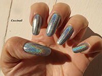 LM cosmetic blue motion holo