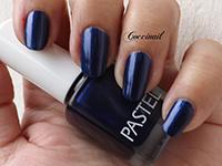 Pastel bleu  nuit