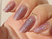 Perfect lady hologram pink