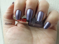Pupa chrome violet