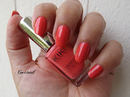 Coral Red 419 Kiko celebration