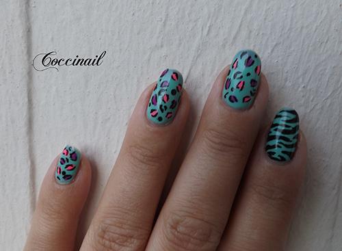 Nail art sauvage