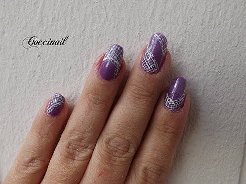 Nail art Dentelles