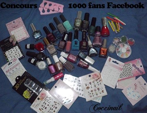 Lot concours 1000 fans