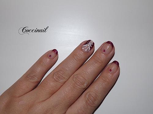 Accent nail de noël