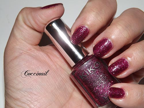 Kiko digital 438 Fascinating burgundy