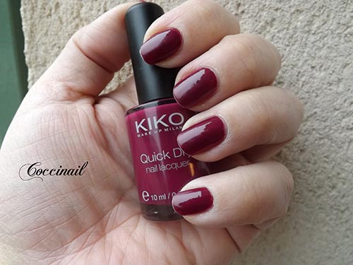 Kiko Quick Dry n°809 Dahlia Purple