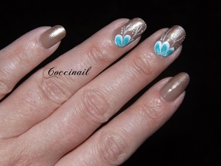 Nail art One stroke par 2