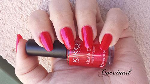 Kiko n° 807 Pearly magenta