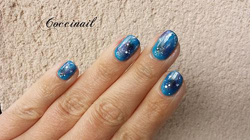 Nail art Galaxie