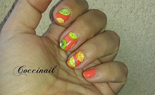 nail art agrumes