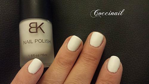 Blanc matte - BK - neejolie.fr