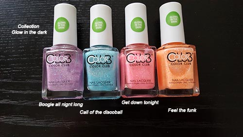 COLOR CLUB - GLOW IN THE DARK - 10 euros pièce