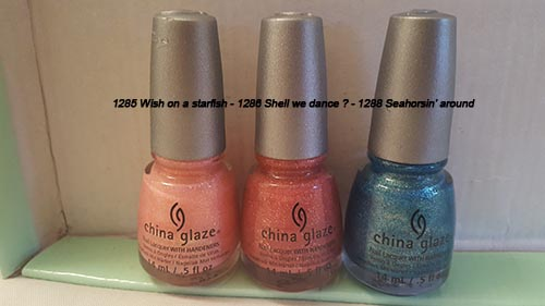 CHINA GLAZE SABLE - 5 euros pièce