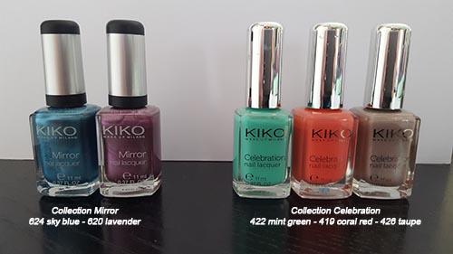 KIKO MIRROR et CELEBRATION- 2 euros pièce